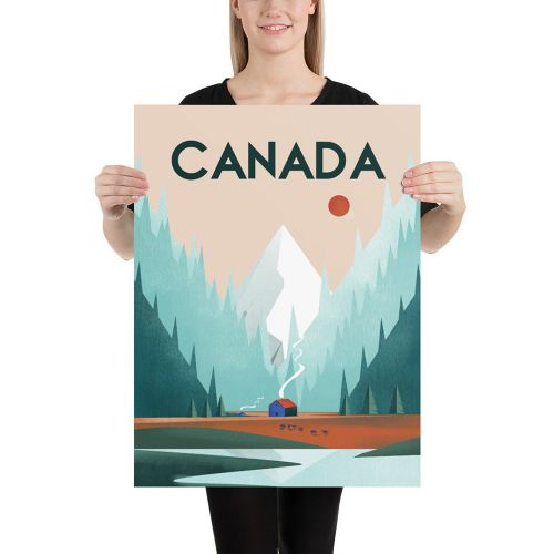Travel poster - Canada